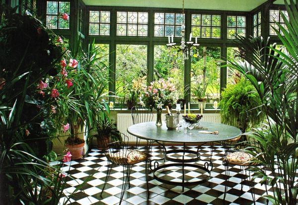 Comment aménager un jardin d'hiver?